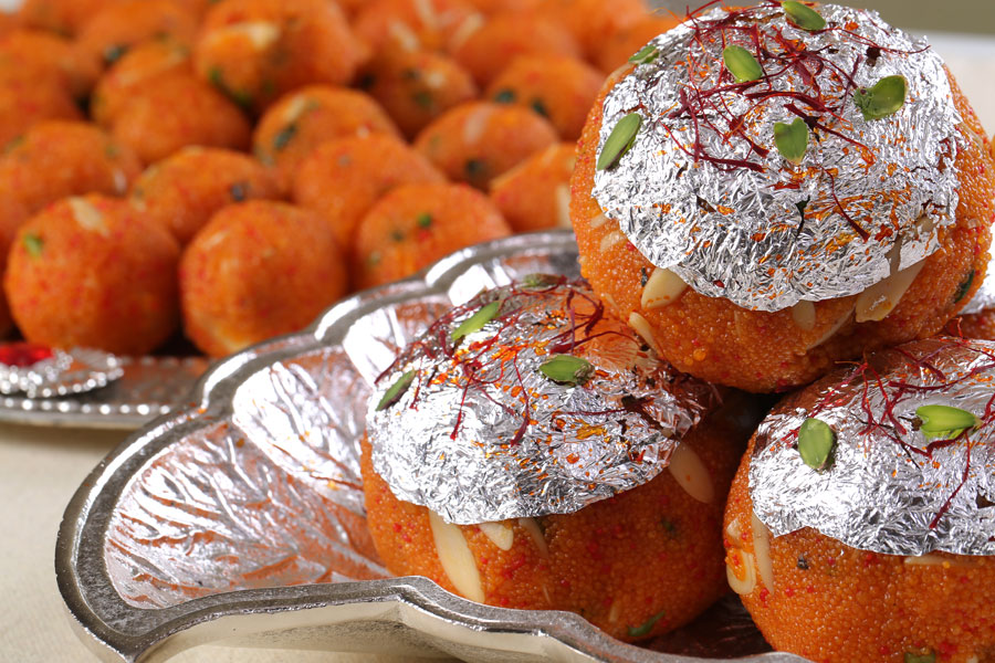 History of laddu in India